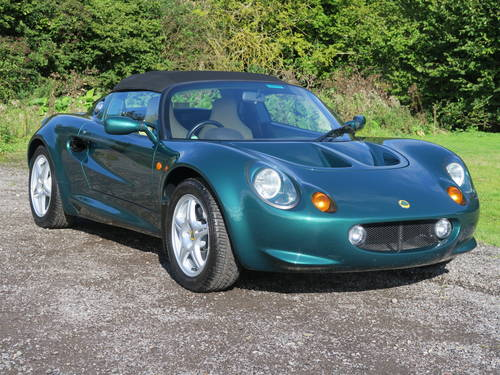 1997 Lotus Elise S1 - JUST 1,600 MILES! For Sale (picture 1 of 6)