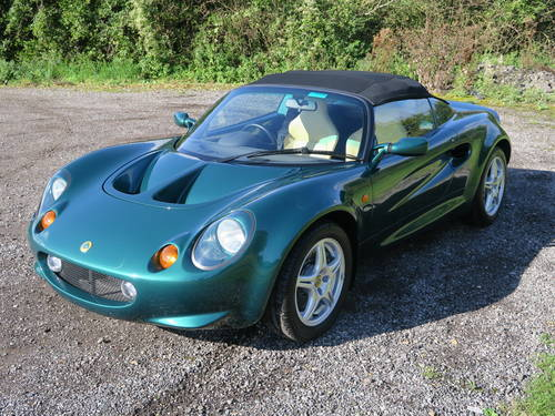 1997 Lotus Elise S1 - JUST 1,600 MILES! For Sale (picture 2 of 6)