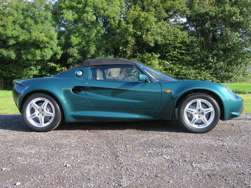 1997 Lotus Elise S1 - JUST 1,600 MILES! For Sale (picture 4 of 6)