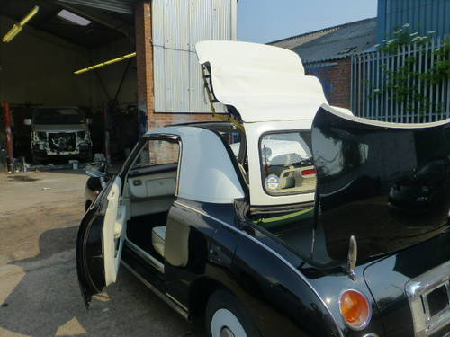 1991 Nissan Figaro Rear Black restoring More 10 Figaros in stock For Sale (picture 3 of 6)