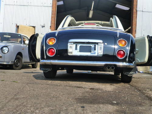 1991 Nissan Figaro Rear Black restoring More 10 Figaros in stock For Sale (picture 4 of 6)