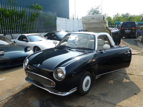 1991 Nissan Figaro Rear Black restoring More 10 Figaros in stock For Sale (picture 6 of 6)