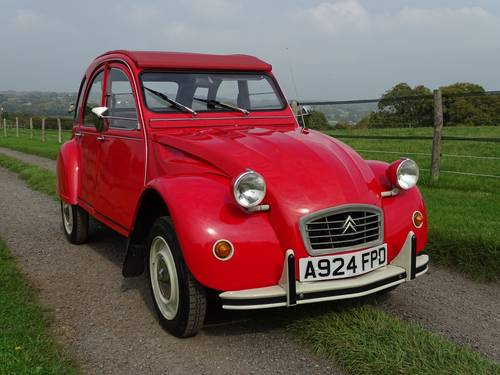1984 Superb Citroen 2CV6 Special,only three owners from new. SOLD (picture 1 of 6)