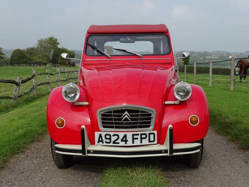 1984 Superb Citroen 2CV6 Special,only three owners from new. SOLD (picture 2 of 6)