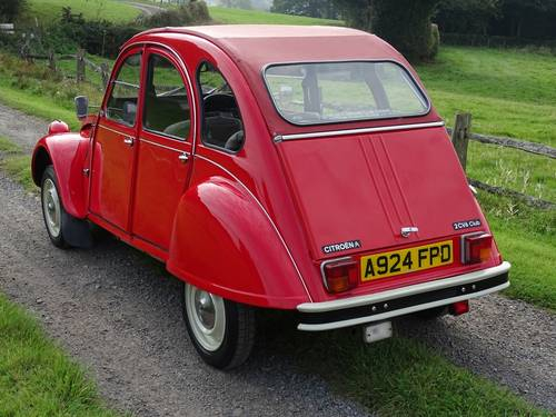 1984 Superb Citroen 2CV6 Special,only three owners from new. SOLD (picture 3 of 6)
