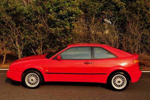 1992 Volkswagen Corrado G60 91,800 miles from new SOLD (picture 2 of 6)