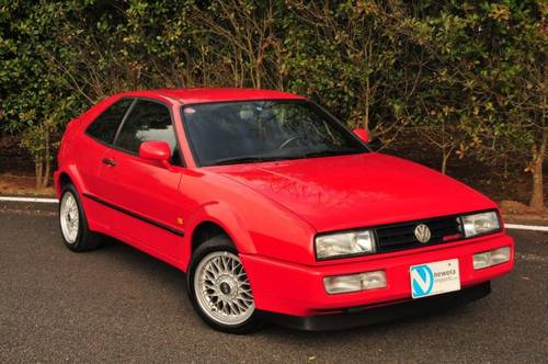1992 Volkswagen Corrado G60 91,800 miles from new SOLD (picture 3 of 6)