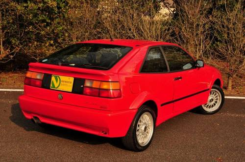 1992 Volkswagen Corrado G60 91,800 miles from new SOLD (picture 4 of 6)