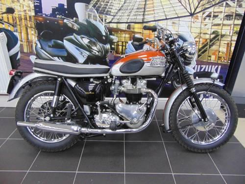 1962 Triumph Bonneville T120 For Sale Car And Classic