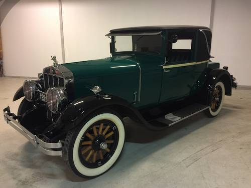 1926 Franklin Doctors Coupe SOLD (picture 1 of 6)