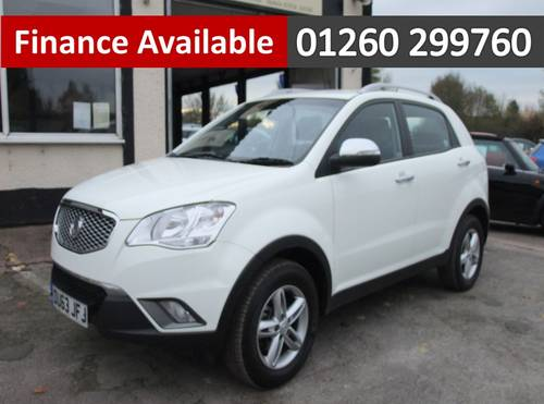 2013 SSANGYONG KORANDO 2.0 SX 5DR SOLD (picture 1 of 6)