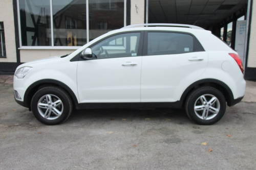 2013 SSANGYONG KORANDO 2.0 SX 5DR SOLD (picture 2 of 6)