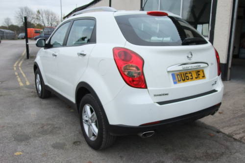 2013 SSANGYONG KORANDO 2.0 SX 5DR SOLD (picture 3 of 6)