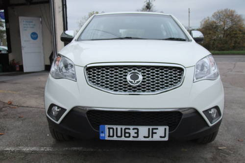 2013 SSANGYONG KORANDO 2.0 SX 5DR SOLD (picture 4 of 6)