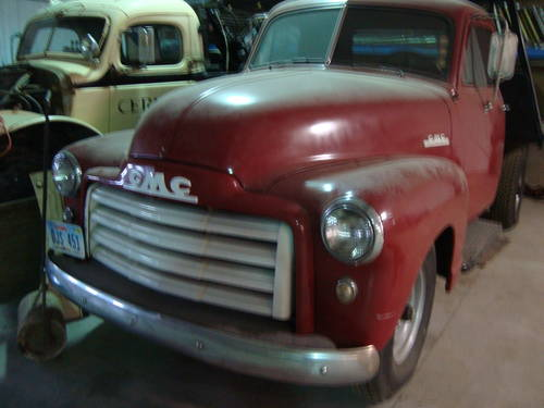 1951 GMC 3/4 Ton Dump Bed Pickup For Sale (picture 1 of 6)