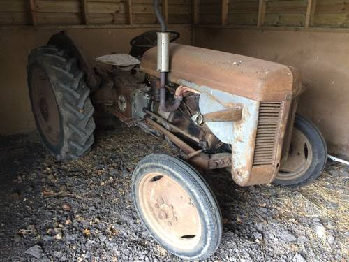 1950s BARN-FIND Grey Ferguson Vintage Tractor For Resto SOLD (picture 1 of 1)