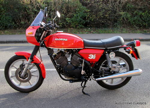 1980 MOTO MORINI 350 VERY GOOD CONDITION (NOW SOLD) SOLD (picture 1 of 6)