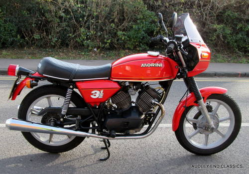 1980 MOTO MORINI 350 VERY GOOD CONDITION (NOW SOLD) SOLD (picture 2 of 6)