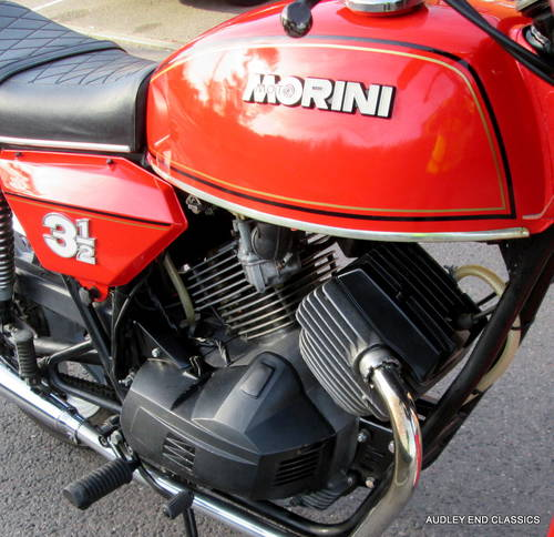 1980 MOTO MORINI 350 VERY GOOD CONDITION (NOW SOLD) SOLD (picture 4 of 6)