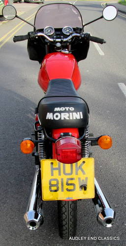 1980 MOTO MORINI 350 VERY GOOD CONDITION (NOW SOLD) SOLD (picture 6 of 6)