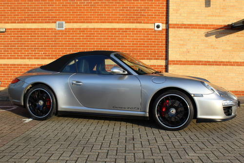 Porsche 911 997 Carrera 4 GTS Cabriolet 2012 (61) *SOLD* For Sale (picture 1 of 6)