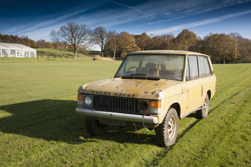 1972 Range Rover Suffix A 3 Door 'Project' SOLD (picture 1 of 6)