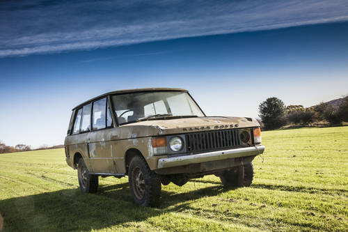 1972 Range Rover Suffix A 3 Door 'Project' SOLD (picture 2 of 6)