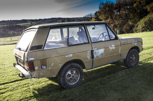 1972 Range Rover Suffix A 3 Door 'Project' SOLD (picture 3 of 6)