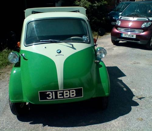 1957 Isetta pick-up. For Sale (picture 1 of 6)