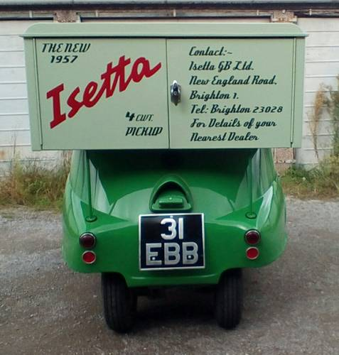 1957 Isetta pick-up. For Sale (picture 3 of 6)