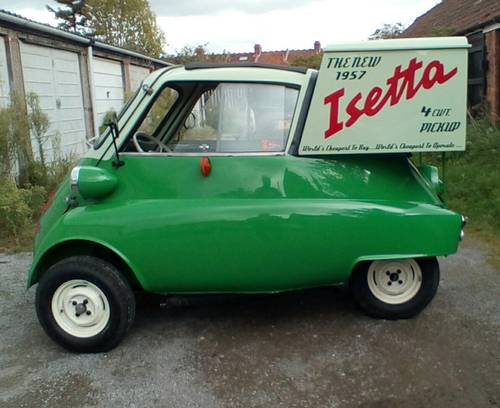 1957 Isetta pick-up. For Sale (picture 4 of 6)