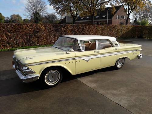 EDSEL RANGER  MODEL 1959 VERY NICE CAR. SOLD (picture 1 of 6)