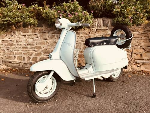 1967 LAMBRETTA LI 125. Series  4 Italian For Sale (picture 1 of 6)