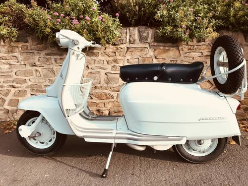 1967 LAMBRETTA LI 125. Series  4 Italian For Sale (picture 2 of 6)