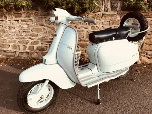 1967 LAMBRETTA LI 125. Series  4 Italian For Sale (picture 5 of 6)