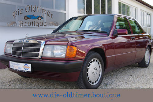 1993 Mercedes-Benz 190 E 1.8 Avantgarde Rosso - 1 of only 2300  SOLD (picture 1 of 6)