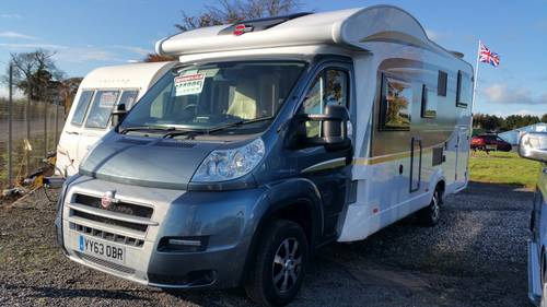 2013 Burstner Fifty-Five - 4 Berth Motorhome SOLD (picture 1 of 6)