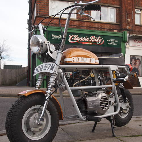 1974 Fantic TX7 50 Very Rare Monkey Bike  SOLD | Car And Classic