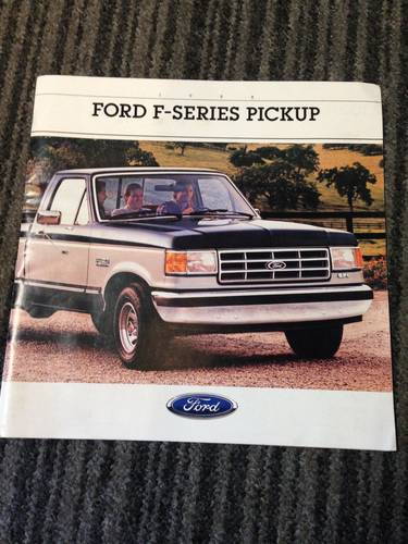 ford f series sales brochure 1988 For Sale (picture 1 of 1)