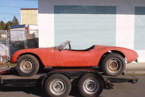 1960 Devin VW Corvair - Beetle Pan and Steel Tube Chassis