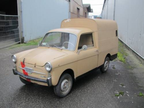 Autobianchi fourgonnette 1969 (4307 Km.) For Sale (picture 1 of 6)