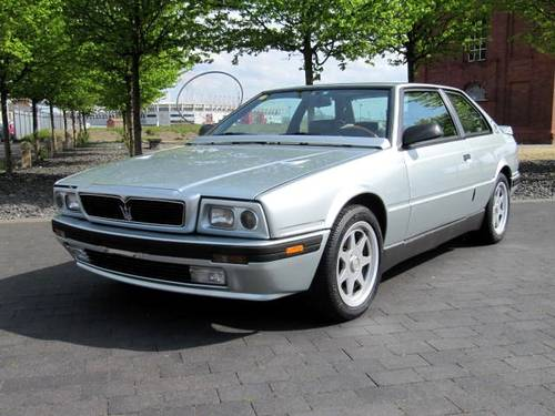 1994 MASERATI  222 SR COUPE GHIBLI 2.8 V6 AUTO * ONE OF ONLY 210 For Sale (picture 1 of 6)