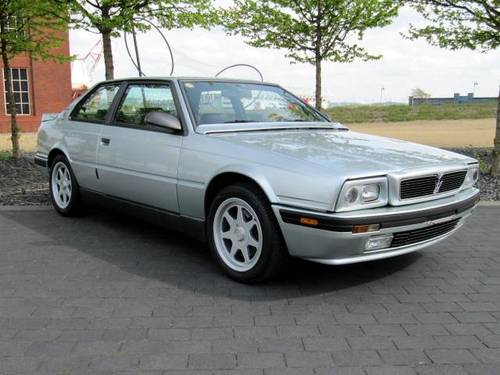 1994 MASERATI  222 SR COUPE GHIBLI 2.8 V6 AUTO * ONE OF ONLY 210 For Sale (picture 2 of 6)