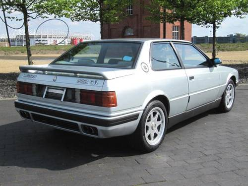 1994 MASERATI  222 SR COUPE GHIBLI 2.8 V6 AUTO * ONE OF ONLY 210 For Sale (picture 3 of 6)