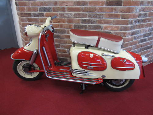 1961 Puch SR 150 Alpine For Sale (picture 1 of 6)