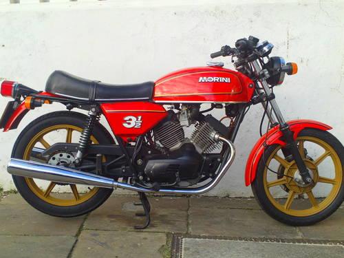 1980 MOTO MORINI 350 STRADA SOLD (picture 1 of 6)