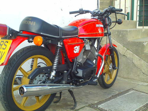 1980 MOTO MORINI 350 STRADA SOLD (picture 2 of 6)