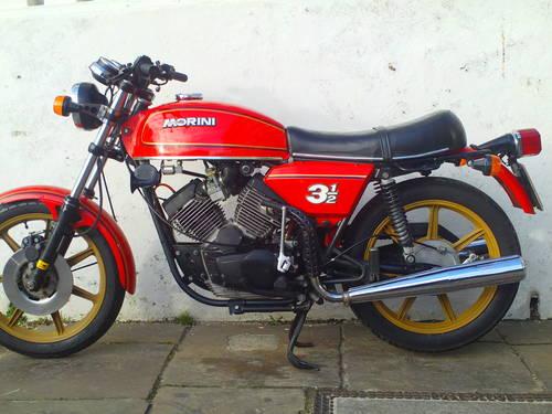 1980 MOTO MORINI 350 STRADA SOLD (picture 3 of 6)
