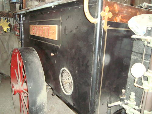 1898 Bennett Do-All  Steam Tractor For Sale (picture 3 of 6)