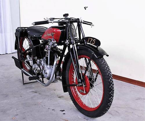 1930 Moto Bianchi 175 Freccia D Oro For Sale (picture 1 of 5)